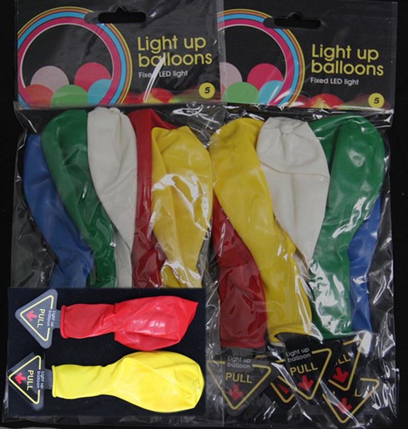 Led light up Baloon 12inch Luminous Latex LED Balloons Colorful Balloon Wedding Christmas + 3pcs Balloon Pump+clips 3000pcs/lot(China (Mainland))