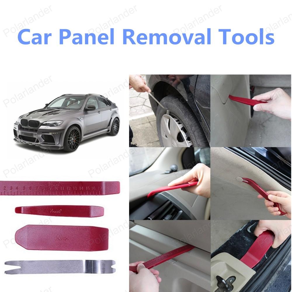 Бесплатная доставка 4 шт./компл. комплект инструментов автомобилей панель удаления инструмента-автомобилей ремонт комплект инструментов