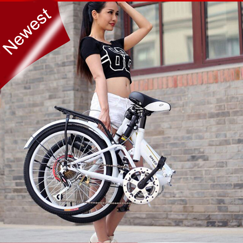 wholesale folding single speed bicycle road bike for male and female couple child school car(China (Mainland))