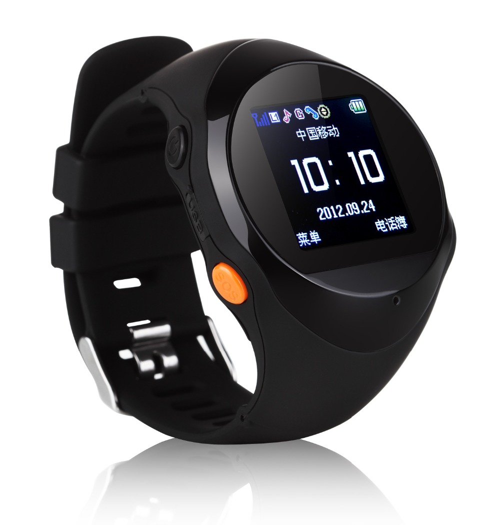 .PG88 GPS Tracker sos Watch Mobile phone for kids Old man with Best touch screen function smart watch mobile wrist smartwatch(China (Mainland))