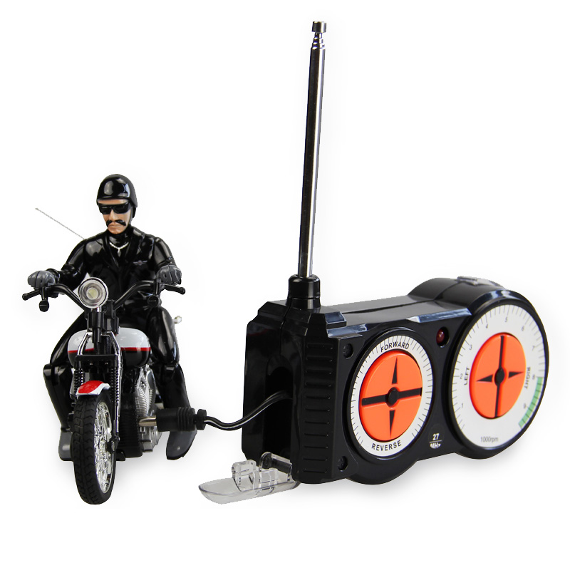 New Amazing RC Motorcycle Electric RC Toy New 5CH RC Motorcycle With Light Miniature Motorcycle Simulation Model RC Bike For Kid(China (Mainland))