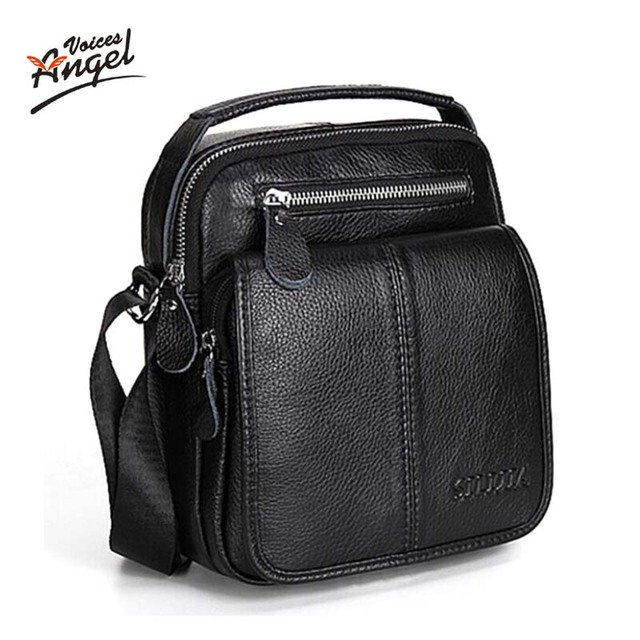 Мода натуральной кожи мужская сумки человек портфолио офис качества сумка дорожная ...