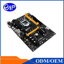 Buy Mining motherboard Intel LGA1151 6 graphics Skylake Kaby lake GPU/ASIC card B250 DDR4 ATX motherboard Price mainboard for $182.00 in AliExpress store