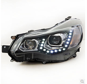 Automobile-2-p-LED-U-Styles-HID-font-b-h