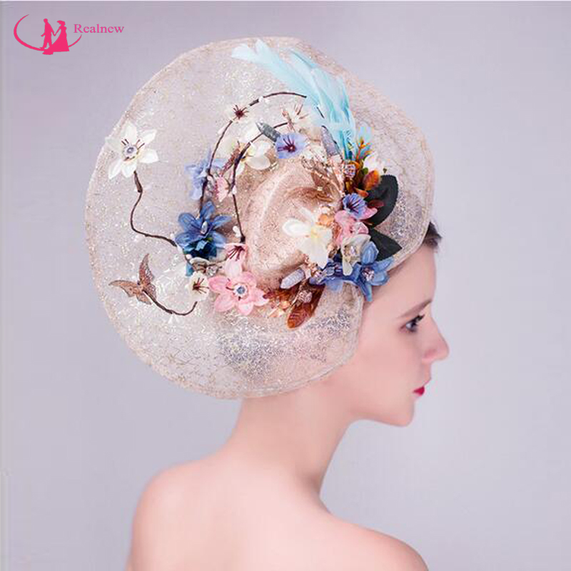 New Arrival Fashion Brand Bridal Hat Good Quality Beautiful Design Wedding Hat for Ladies Hot Selling