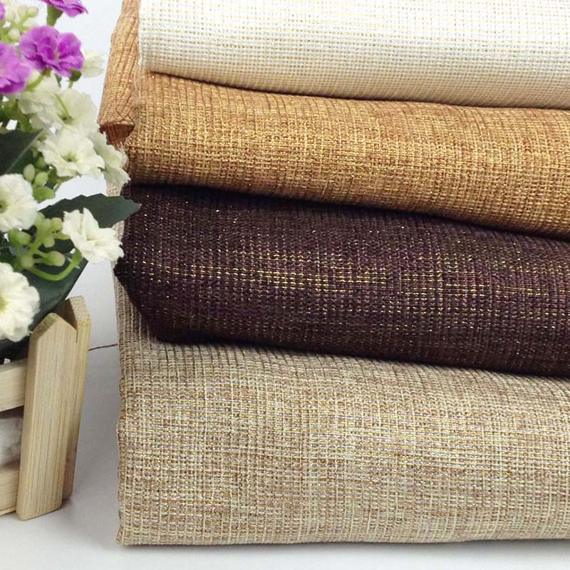 Jute Linen Look Metallic Fabric Meter,Width:150cm,Table Cloth Fabric,Tissus Fabrics for Photograph Background,Sewing Material(China (Mainland))