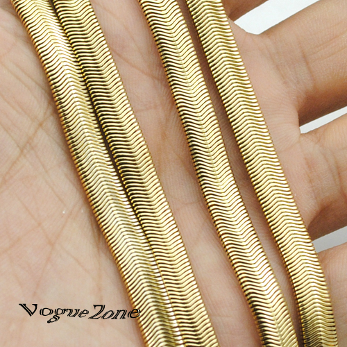 Quality 55CM 18K Gold Filled chain Necklace Herringbone Snake Chain Mens Chain Womens Necklace Wholesale Jewelry Gift BN110A(China (Mainland))