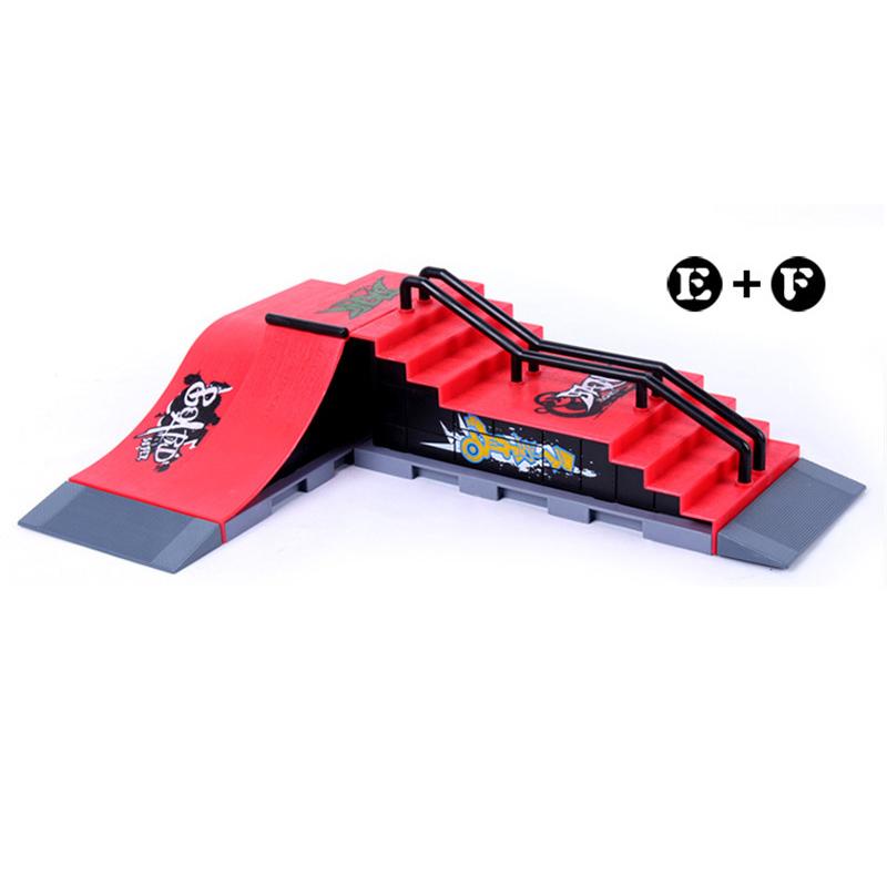Model e f mini ramp finger skateboard park skatepark tech deck skate park includes 2 board - Tech deck finger skateboards ...