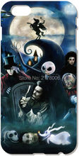 Printed Tim Burton For iphone 4 4S 5 5S SE 5C 6 6S Plus For iPod Touch 4 5 6 Back Skin Plastic Hard Cover Mobile Cell Phone Case