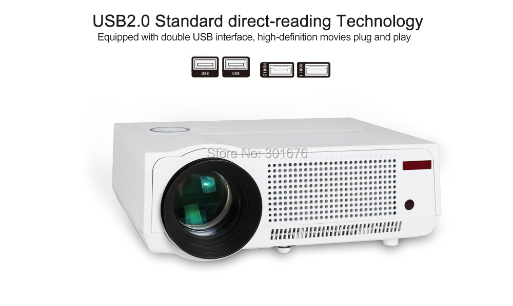 Wholesale amazing 5500lumens home theater projector for Best projector for apple products