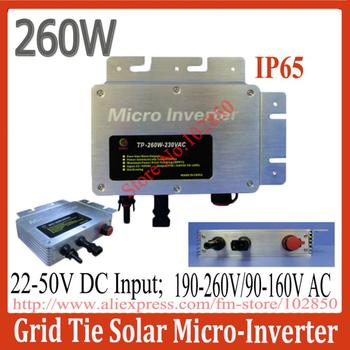 2013 New Arrival Solar Micro-Inverter Grid Tie,water proof IP65,LED display pure sine wave inverter,wide voltage input 22-50V