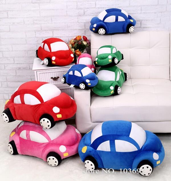 Plush Toys Cars Model Stuffed Plush Toy Reborn Baby Favorite Car Toy,Stuffed Animals & Plush Toy Kids Movie Cars Shape Pillow(China (Mainland))