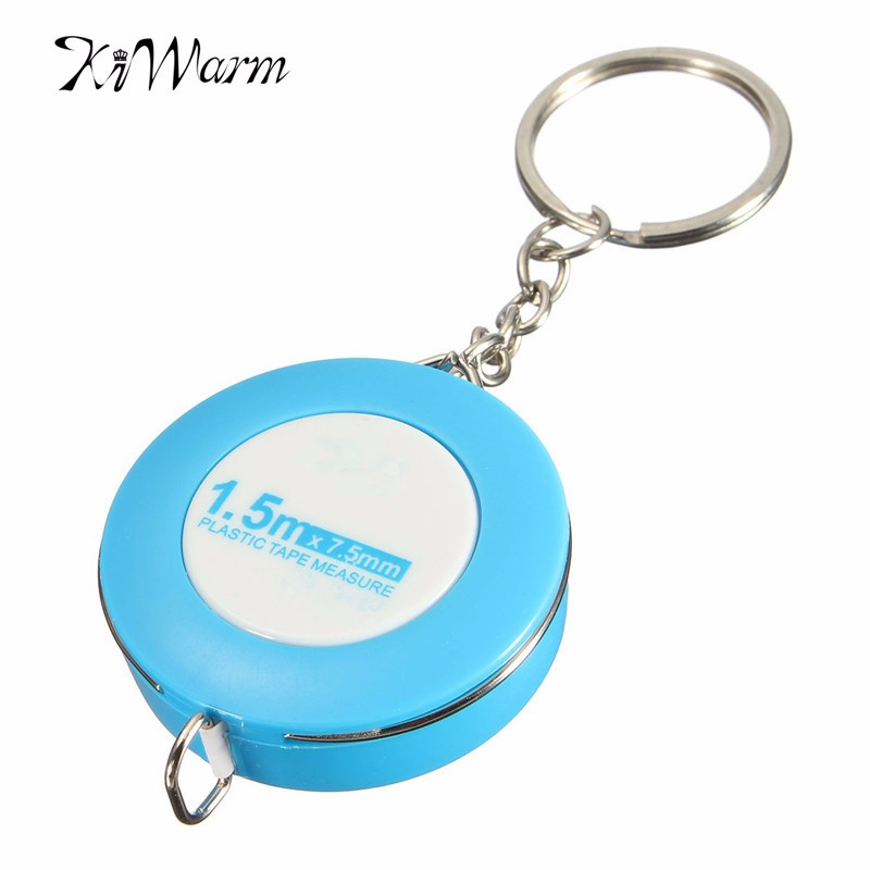 New 150CM Candy Color Soft Rubber Tape Measures Sewing Tailor Body Measuring Keyring Ruler for Home Handmade Tools Random(China (Mainland))