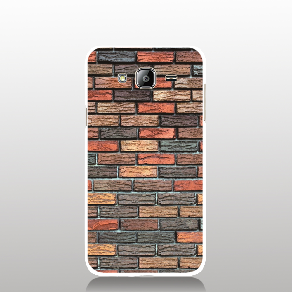 08924 wall stone brick cell phone case cover for Samsung Galaxy J1 ACE J5 2016 J7 N9150 N915K N915S(China (Mainland))
