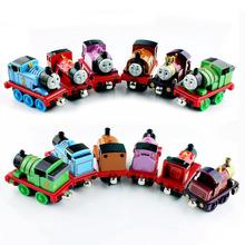 6 шт. детская томас и Друзья томас поезд установить бак двигатель металлические магнитные томас автомобиля литого игрушки автомобили миниатюры подарки(China (Mainland))