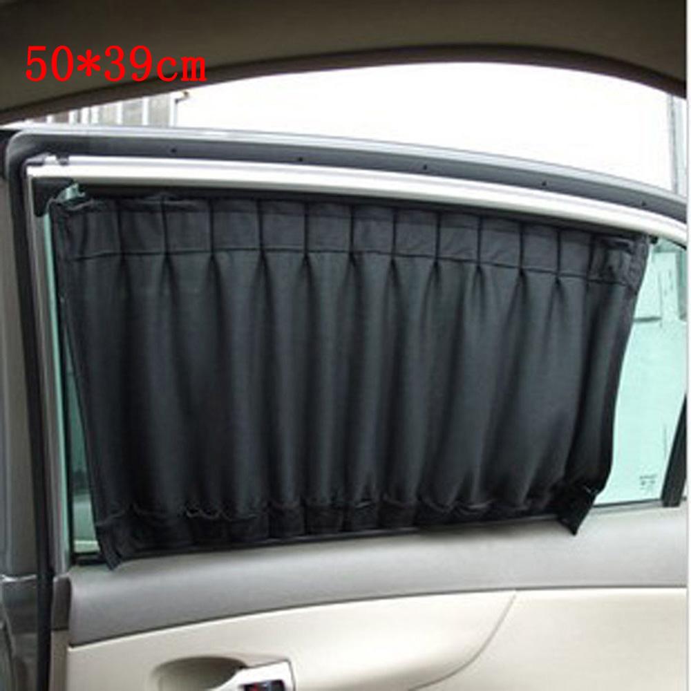 2PCS 50*39CM Universal car sun shade car window sunshade UV Proof Side Window Sun Shield auto curtain car-styling(China (Mainland))