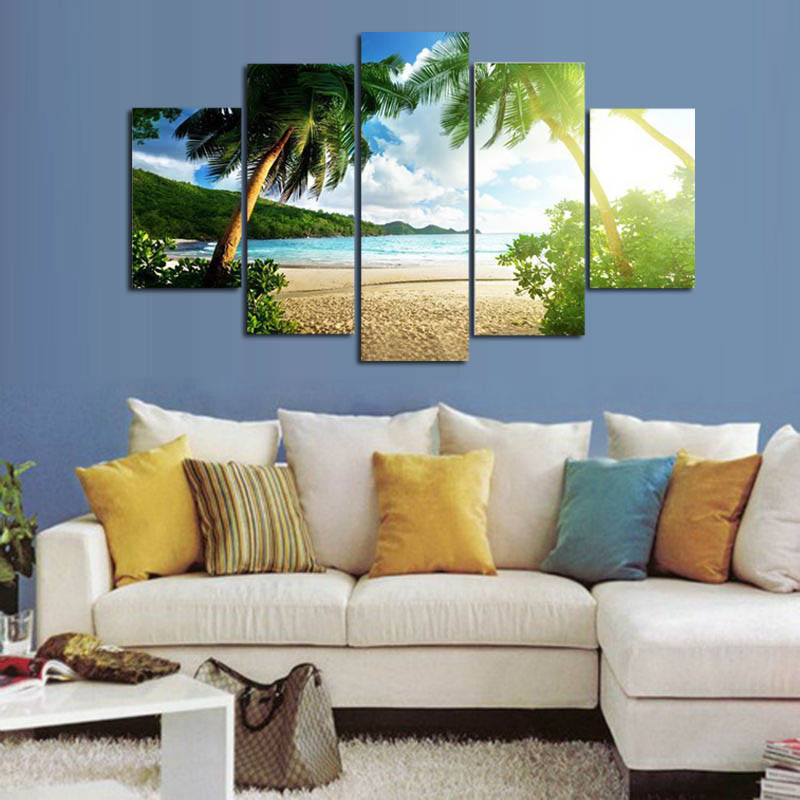 Popular palm trees landscape buy cheap palm trees for Palm tree living room ideas