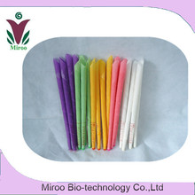Free Shipping 50 pairs=100pcs High-QualityTherapy/Medical Natural Beewax Ear Candles & multicolor ear care candles