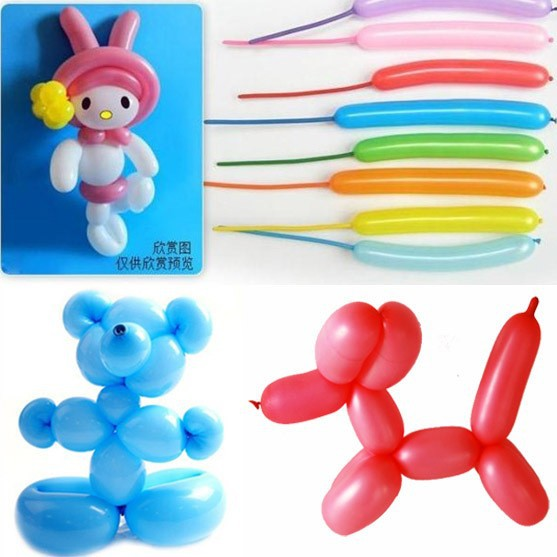 600pcs/lot 260 Mix-color Wedding Birthday Party Decoration Assorted Latex Magical Long Balloon(China (Mainland))