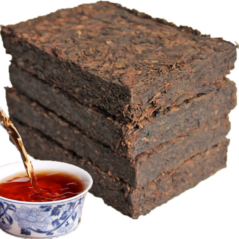 Chinese Ripe Pu'er Puer Tea Brick 1985 Year Shu Pu-erh Ancient Tree Pu-erh Tea Yunnan pu erh Tea Pu Er Cha(China (Mainland))