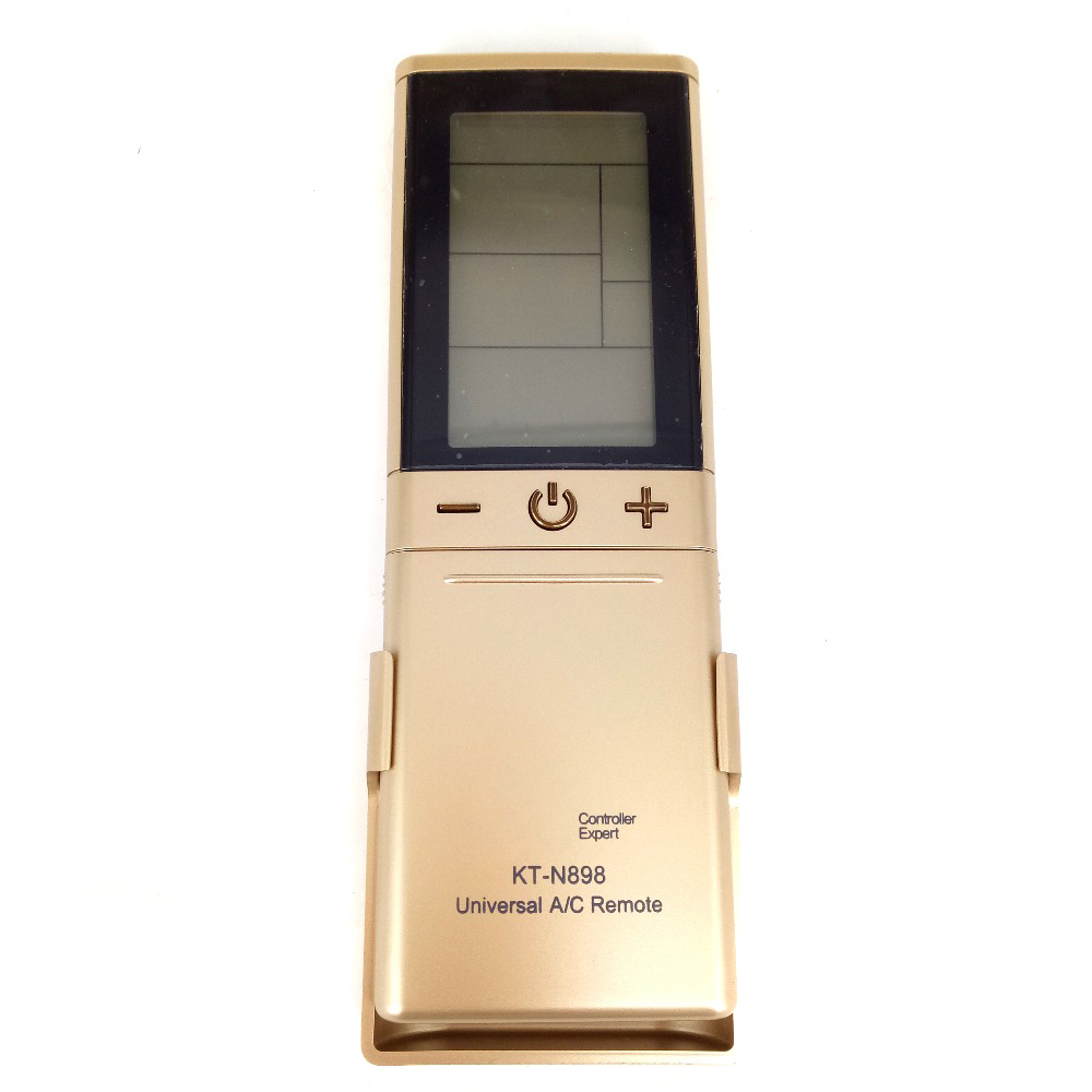 New Fit For Qunda GREE LG CHUNLAN KT-N898 Gold Universal Air Conditioner A/C Remote Control 2000 In 1 LCD Controller Expert(China (Mainland))