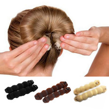 Buy Women Girl Magic Style Hair Styling Tools Buns Braiders Curling Headwear Hair Rope Hair Band Accessories hot sale for $1.26 in AliExpress store