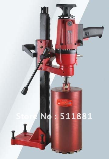 6.6'' 166mm Dual-purpose Core Drill Machine for wet drilling concrete | Complex of Hand held and Desktop machine | 2.3hp 14kg(China (Mainland))