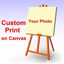 Your Picture,Family or Baby Photo,Favorite Image Custom Print on Canvas Painting Room Decorate Free Shipping(China (Mainland))