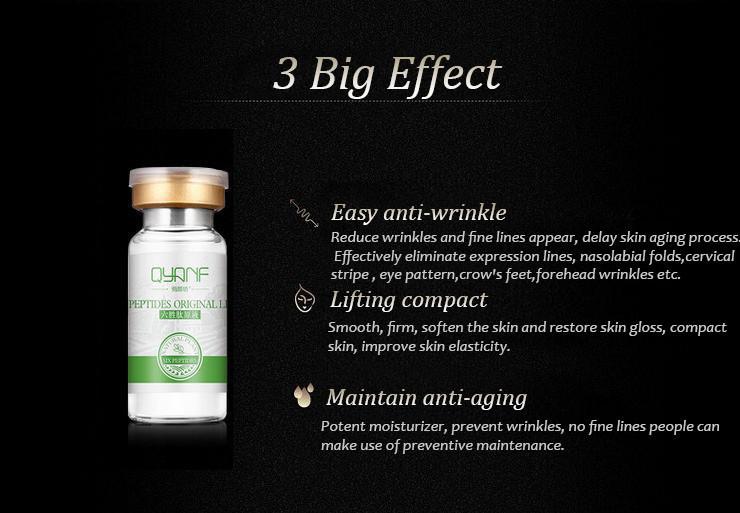 Qyanf аргирелин жидкость шесть пептиды сыворотка для растяжки крем против морщин против старения коллаген омолаживающая подтяжка лица уход за кожей