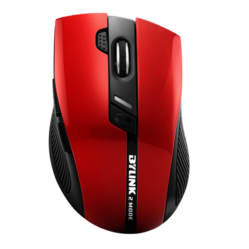 JiaYibing silent mute noiseless wireless mouse dual mode mouse 2000DPI wireless gaming mouse bylink M3 S6