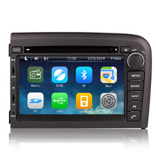 Free Shipping Wholesales 2 Din Car DVD player For VOLVO S80 1998 to 2006 with GPS Navigation Radio AM FM USB SD Ipod RDS