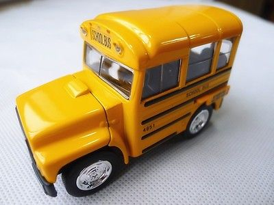 Sunnyside 1:48 School Bus Metal Diecast Toy Car Loose(China (Mainland))