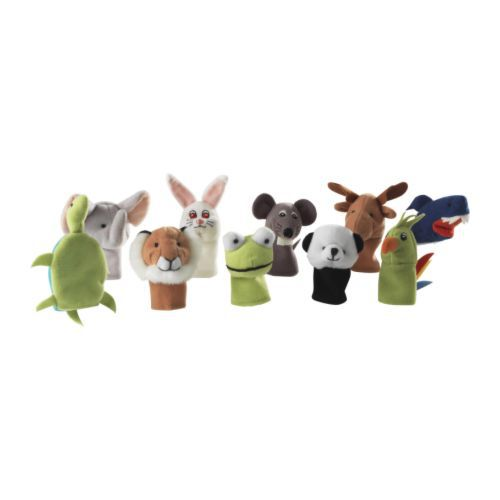 10 pieces different dolls 100% polyester children hand puppet, soft toy(China (Mainland))