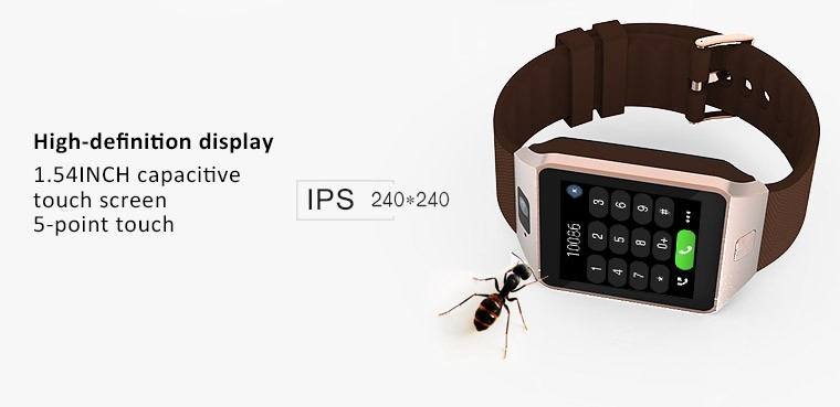 ถูก 5ชิ้น/ล็อต1.54นิ้ว3กรัมโทรศัพท์นาฬิกาสมาร์ทหุ่นยนต์4.4ระบบบลูทูธ4.0สายรัดข้อมือสนับสนุนซิมการ์ดสร้อยข้อมือคู่Core 4กิกะไบต์รอม