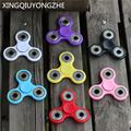 7 color Tri Spinner Fidgets Toy Kids Adult Funny Anti Stress Toys Plastic EDC Sensory Fidget
