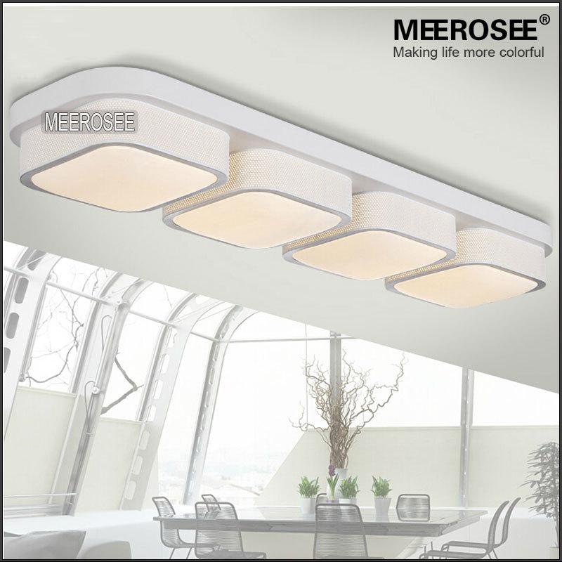 2015 New Sale Plafon Rectangle Modern Ceiling Lights Bedroom Shade Flush Moun