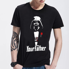 Logo Printed Fashion Star Wars Men T Shirts Short Sleeve Yoda/Darth Vader Cartoon Man t-shirts Cool Storm Trooper Tee Shirt