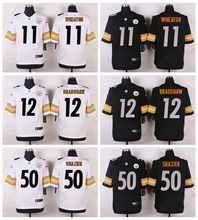 High quality,pittsburgh steelers s,#11 Markus Wheaton #12 Terry Bradshaw #50 Ryan Shazier Elite camouflage(China (Mainland))