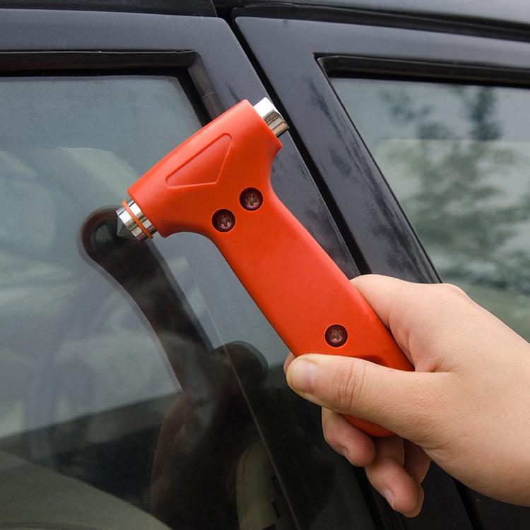Гаджет  Mini Car Safety Hammer Life Saving Escape Emergency Hammer Seat Belt Cutter Window Glass Breaker Car Rescue Tool None Автомобили и Мотоциклы