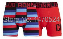 TOP Quality 3PCS 2015 New Children Cotton Underwear Boxer Briefs Boys Cotton Panties International brands CR7
