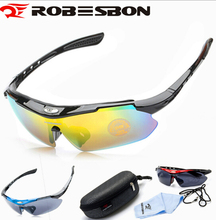 Buy ROBESBON Polarized Sports Unisex Sunglasses Road Cycling Glasses Mountain Bike Bicycle Riding Protection Goggles Eyewear for $6.16 in AliExpress store