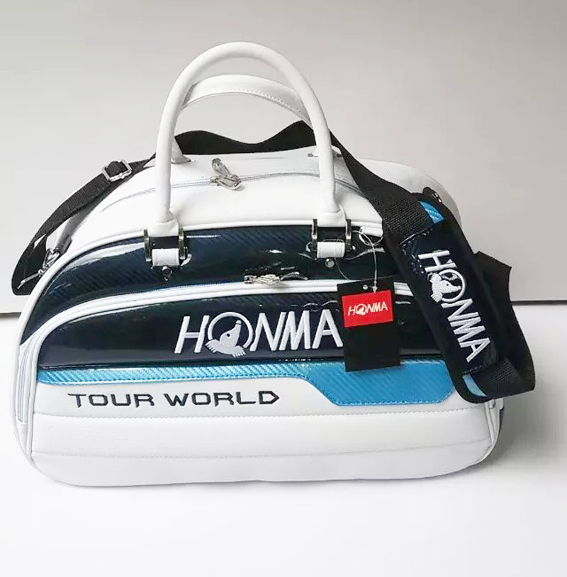 New Honma TOUR WORLD Golf Clothing bag High quality PU Golf bags with 3 colors Golf shoes bag Free shipping(China (Mainland))
