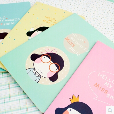 korean school supplies exercise book agenda planner organizer notebooks for school material school personal diary free shipping(China (Mainland))