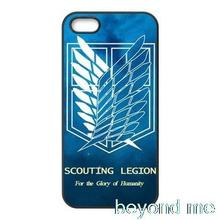 Attack on Titan Wings Of Liberty Flagr case for iphone 4 4s 5 5s 5c 6 6s plus samsung galaxy S3 S4 mini S5 S6 Note 2 3 4 z0822
