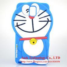 For Samsung Galaxy Note 3 N9000 N9005 N9006 Case Cute Japan 3D Cartoon Doraemon Phone Case Soft Silicone Rubber Cover Case