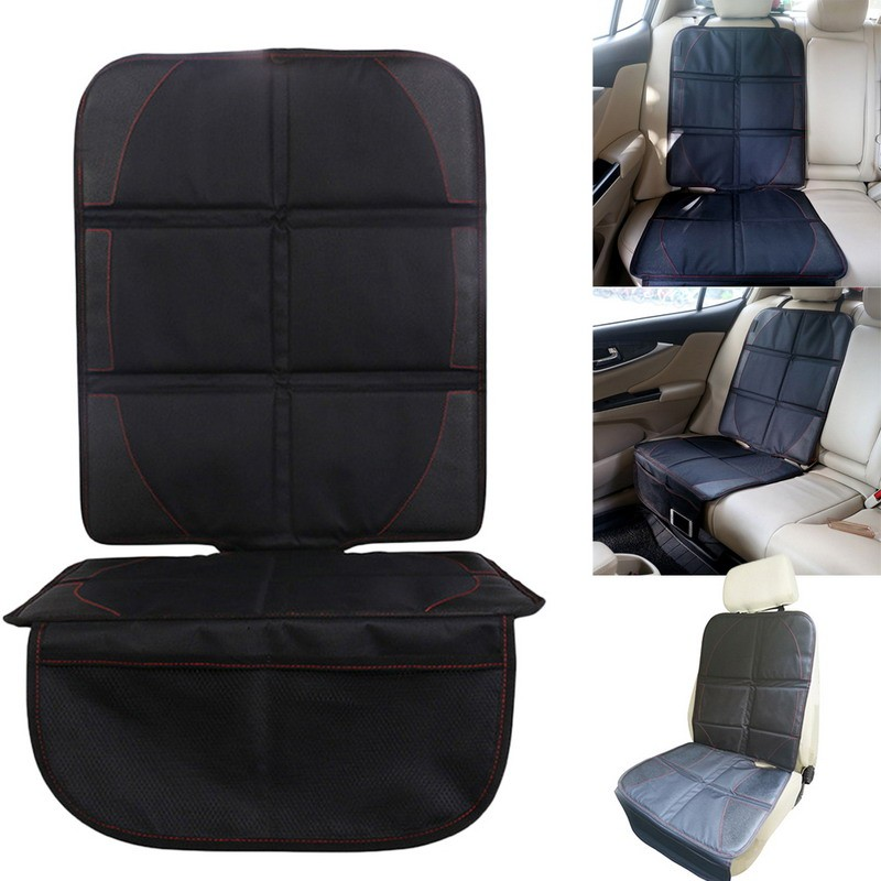 Black Car Seat Protector Mat Auto Car Seat Cover Infant Seat Saver ...