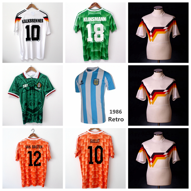retro soccer jersey home and away retro soccer jersey football retro jersey in stock(China (Mainland))