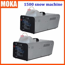 Buy 1500W artificial snow maker, wire control snow machine, snow equipment stage dj christmas effect 2PCS/lot for $350.00 in AliExpress store