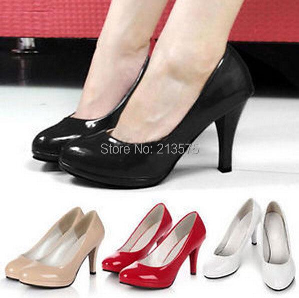 2015 New Fashion Womens Ladies Stiletto High Heels Office Dress shoes Work Court Platform Pumps 4 Color - Aliexpress Shoes Boxes store
