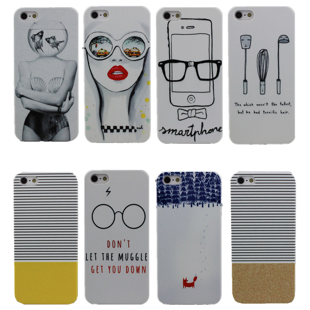 product 2015 New Fashion Don't Let The Muggles Get You Down Design PC Hard Case Cover For Apple i Phone iPhone 4 4S 5 5S 4G 5G